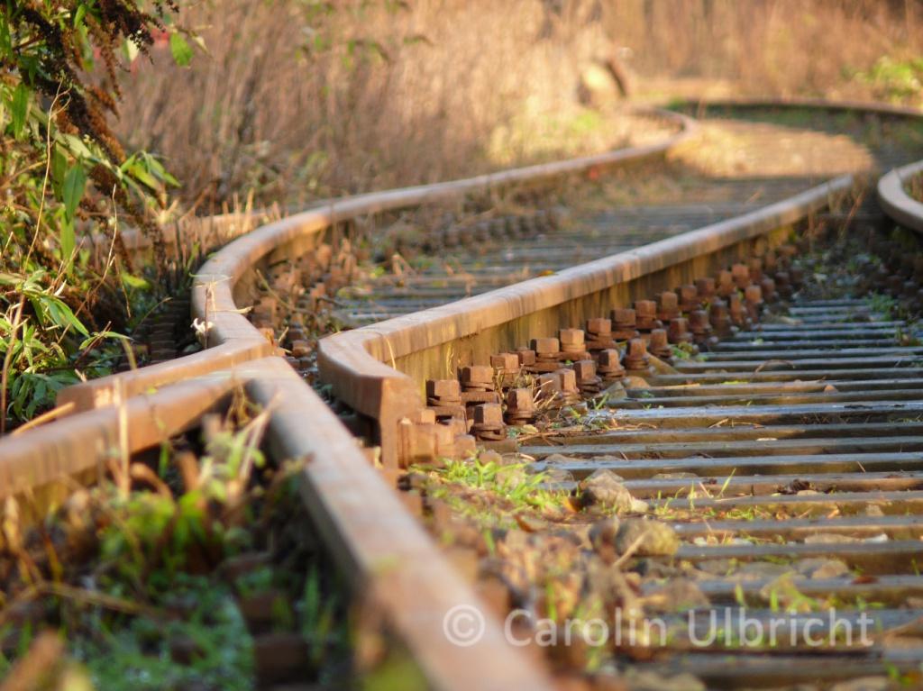 Marode Nordbahntrasse